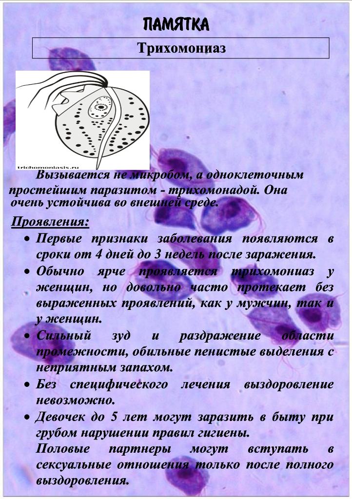 Заболевания передающиеся половым путём ЗППП